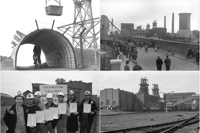 The collieries of East Durham employed thousands of people and we have 9 reminders of the industry.