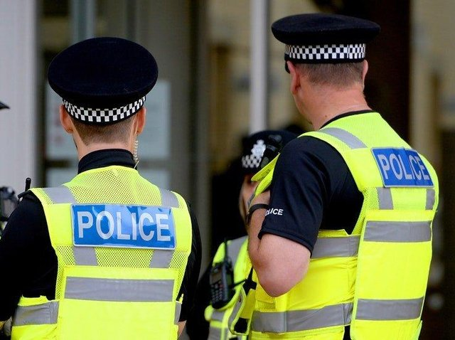 Police were called to reports of concern for a man