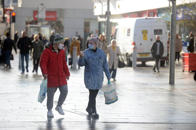 Shoppers are being encouraged to use local shops