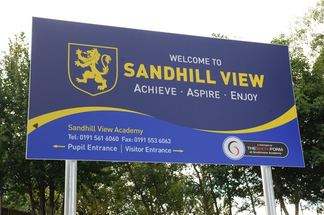 Students at Sandhill View Academy have been asked to self-isolate.