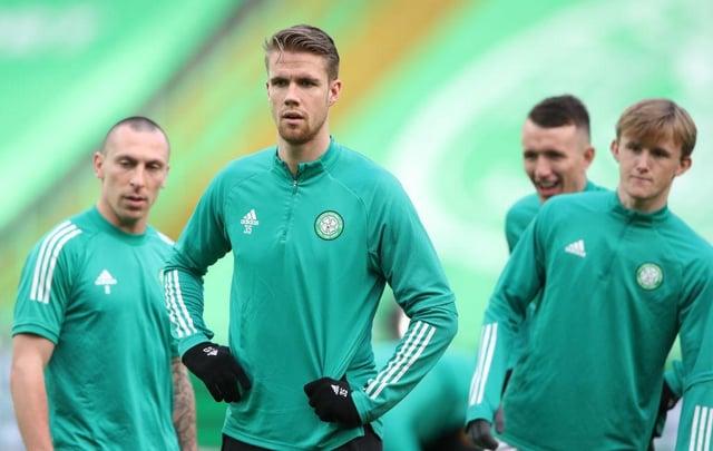 Celtic defender Kristoffer Ajer.