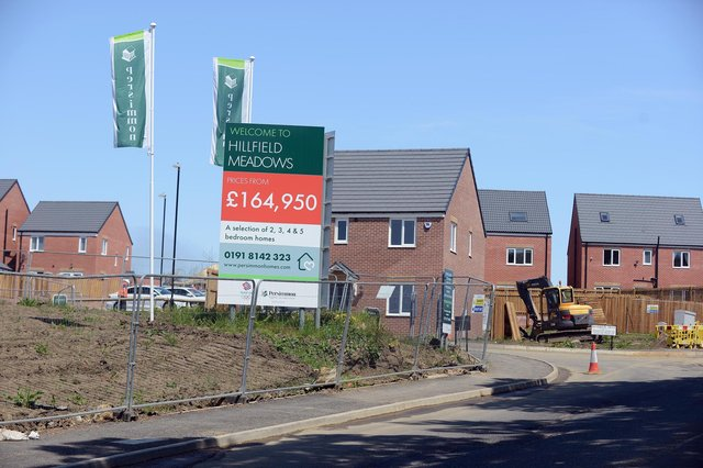Persimmons, which is building Hillfield Meadows, a new housing estate in Silksworth, has been served with a stop notice due developer breaching planning conditions.
