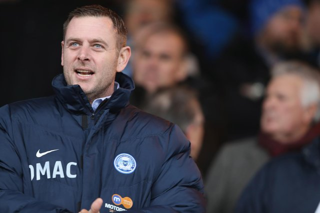 Darragh MacAnthony chairman of Peterborough United.