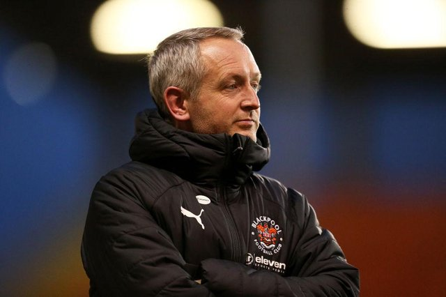 Blackpool manager Neil Critchley.