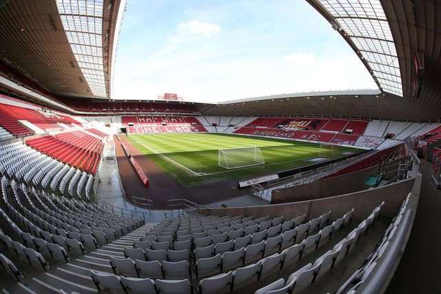 A General view of the Stadium of Light prior to the Sky Bet League One match between Sunderland and Northampton Town at Stadium of Light on May 09, 2021 in Sunderland, England. (Photo by Pete Norton/Getty Images)