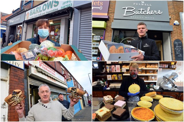 Essential independent traders in Sea Road, Fulwell