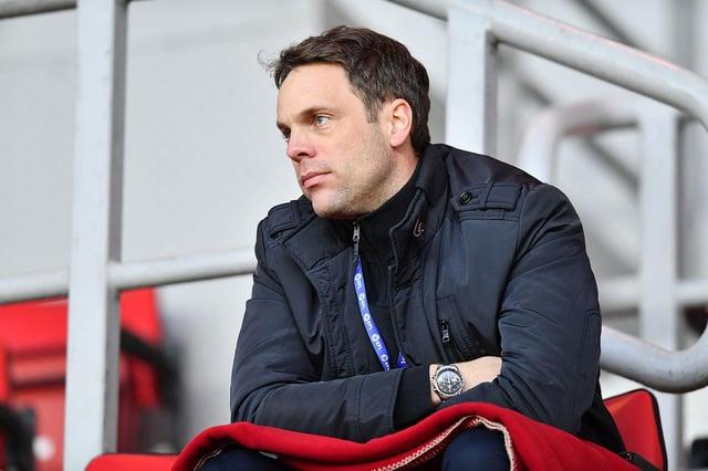 Sunderland's sporting director Kristjaan Speakman at the Stadium of Light last season.