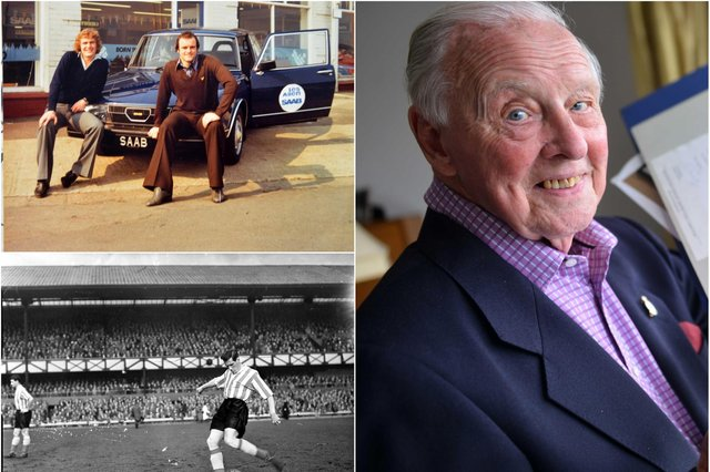 Les Allen who may be the oldest person still alive to have seen Sunderland at the top of English football.