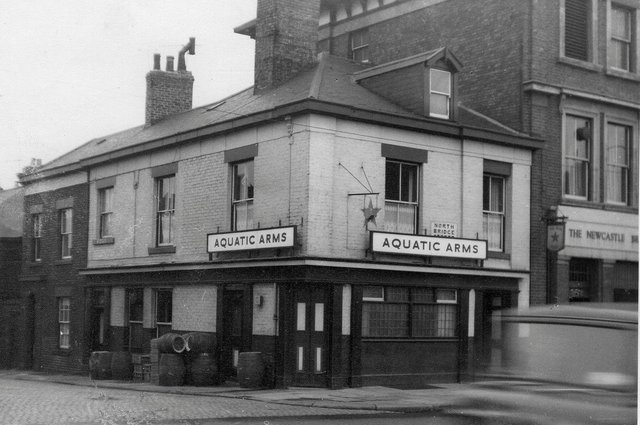 The Aquatic Arms was in North Bridge Street from 1873 to 1969.