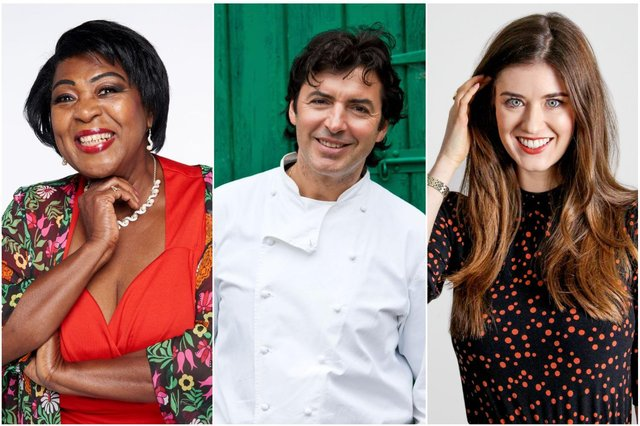 Rustie Lee, Jean Christophe Novelli and Alice Fevronia are taking part in the festival.