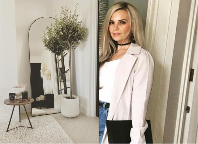 Leanne Elliott-Ramsey, 40, has 5,000 followers on her interior design led instagram account. She shared this picture of her 'bargain' Olive Tree from Home Bargains .
