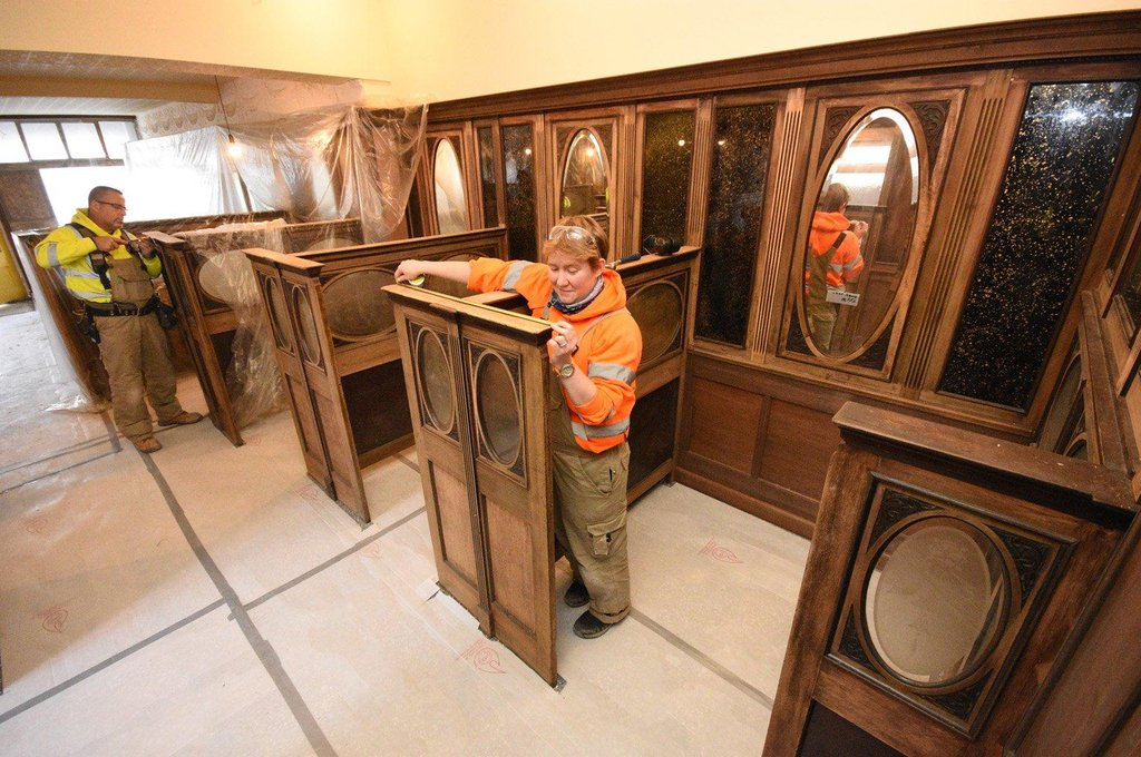 Enjoy a sneak preview as Beamish Museum1950s town starts to take shape
