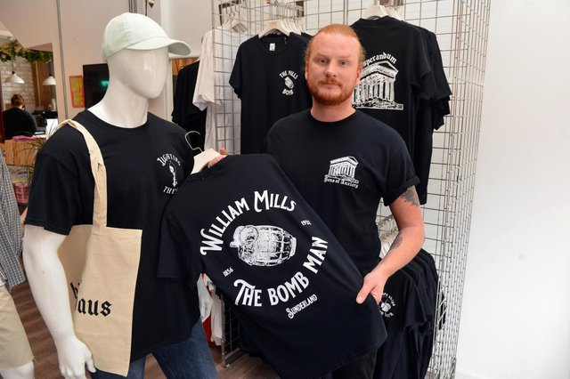 Dave Rowlands has started his own t-shirt brand named Sons of Anxiety stocked in Port Independent.