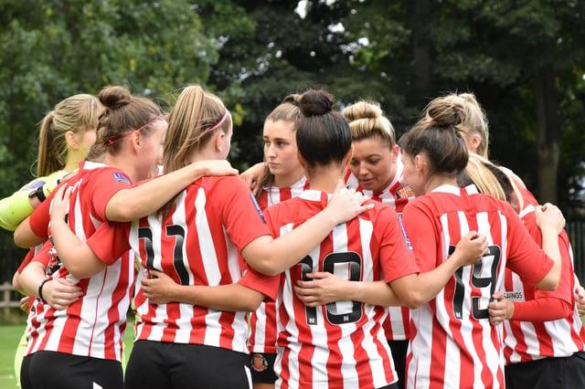 Sunderland Ladies will play in the FA Women's Championship next season. (Photo credit: Chris Fryatt)