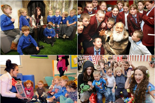 A selection of story time sessions across Sunderland and County Durham. Can you spot a familiar face?