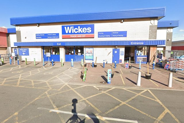 Paul Middleton, 42, swiped lighting and gardening tools from Wickes' store in Wessington Way, Sunderland, on Sunday, April 11, South Tyneside Magistrates' Court heard.
