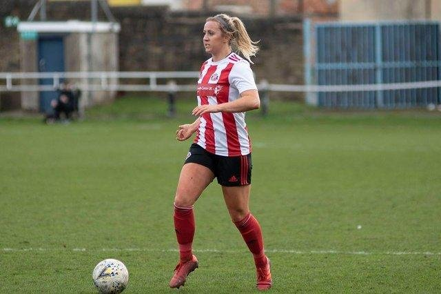 Charlotte Potts is back at Sunderland Ladies. (Photo credit: Colin Lock)