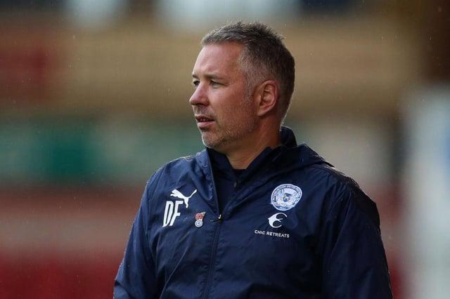 Peterborough boss Darren Ferguson.