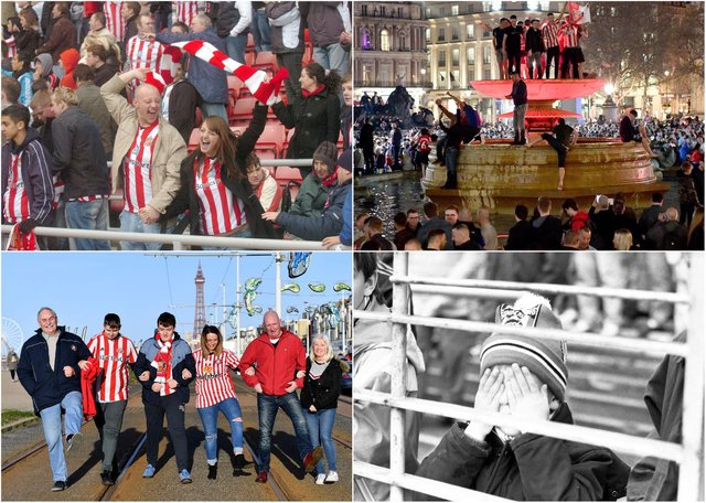 The highs and lows of following Sunderland across the years as March 7, 2021, marks one year since spectators were last able to watch their heroes in action at home.