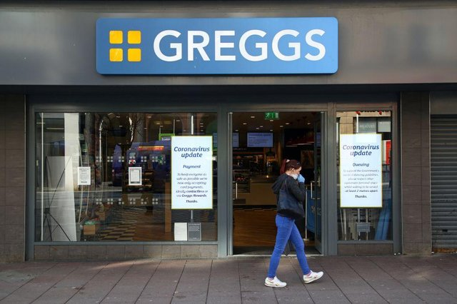 Greggs believes it could get back to normal profits this year following the easing of lockdown. (Photo by GEOFF CADDICK/AFP via Getty Images)