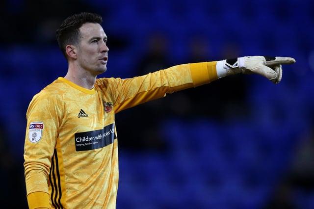 Former Sunderland goalkeeper Jon McLaughlin