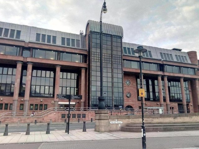 The case is being heard at Newcastle Crown Court