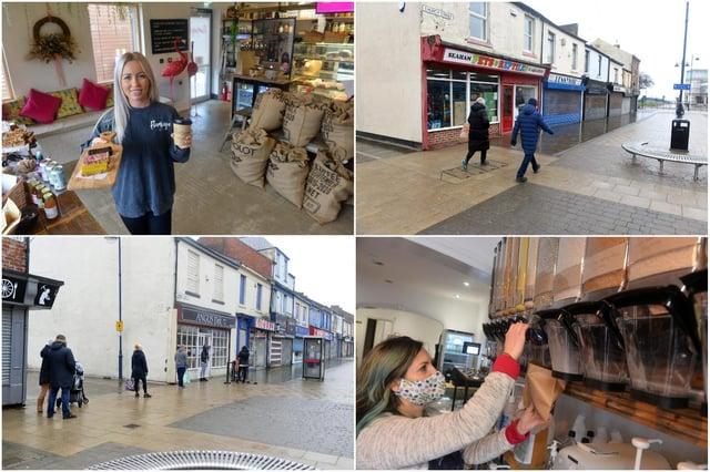 Shining the spotlight on traders in Seaham in Lockdown 3