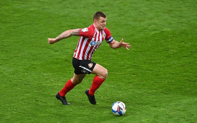 Max Power playing for Sunderland.