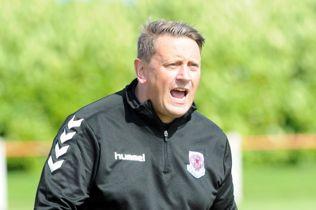 Seaham Red Star manager Mark Collingwood.