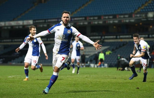 Former Newcastle United striker Adam Armstrong scored 28 goals for Blackburn Rovers in the Championship last season. (Photo by Jan Kruger/Getty Images)