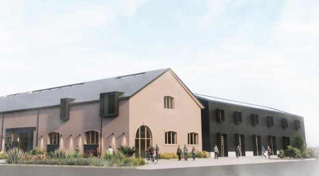 How the Housing Innovation and Construction Skills Academy would look (Image: Sunderland City Council).
