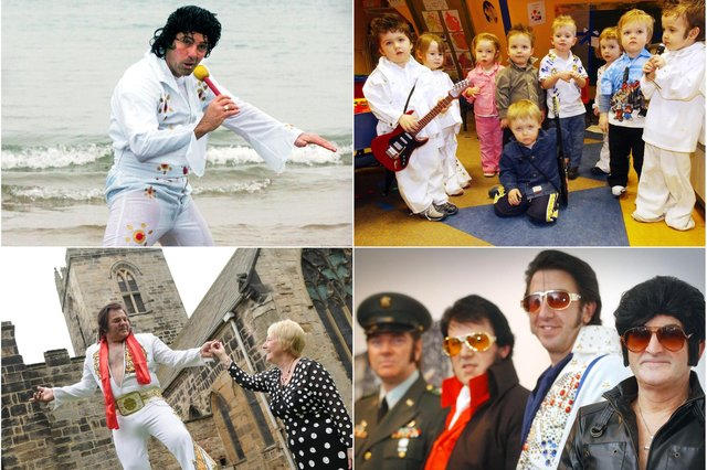 A tribute to Elvis from Wearside and County Durham over the years.