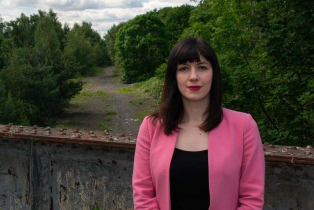 Houghton and Sunderland South MP Bridget Phillipson overlooking part of the former Leamside Line on the edge of her constituency.