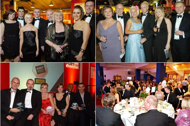 Were you pictured at the Portfolio Awards?