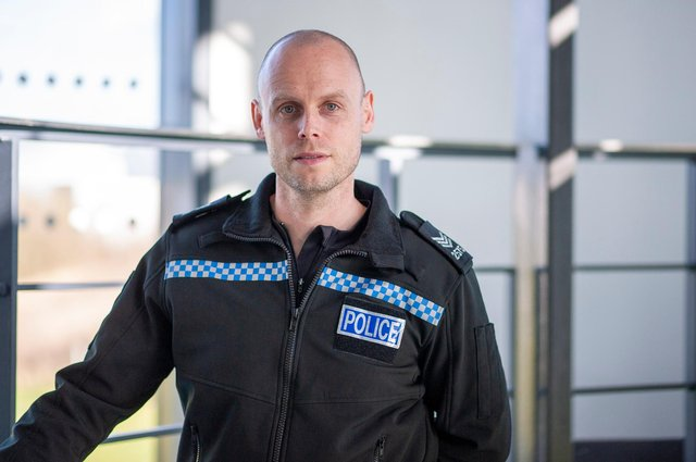 Sergeant Phil Atkinson has praised the student officer's actions