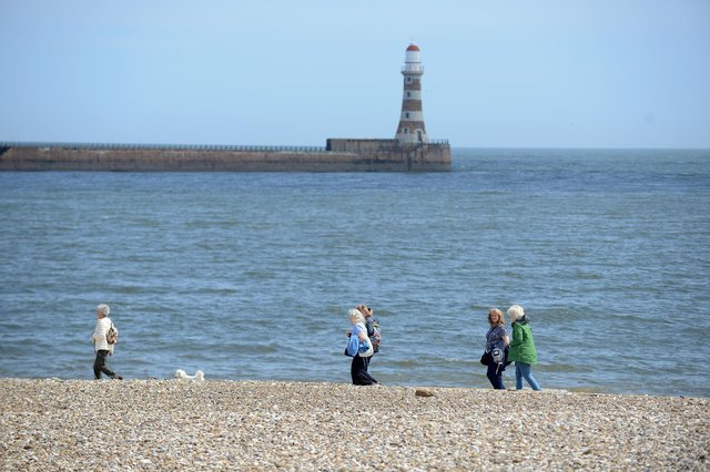 The best times to go to the beach or have a dip in the sea in Sunderland