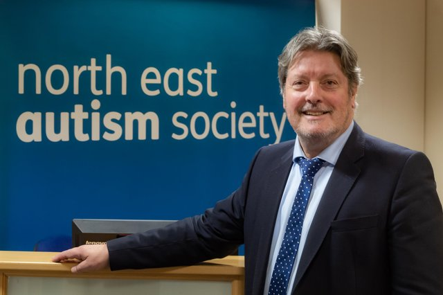 North East Autism Society chief executive John Phillipson.