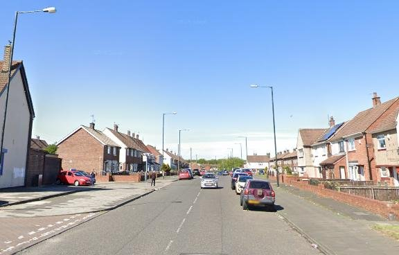 The collision happened in Cheadle Road, Sunderland.