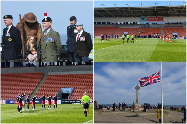 Veterans paid their respects to the Duke of Edinburgh in Seaham while Sunderland AFC players held a minute's silence.