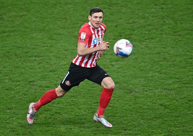 Sunderland striker Charlie Wyke in action.