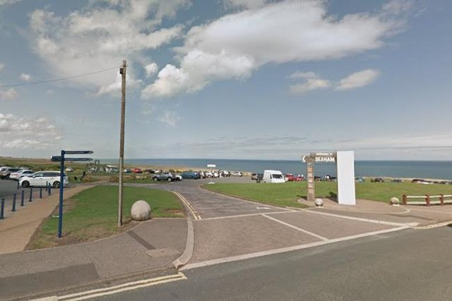 The body of Paul Kennedy was found in Seaham Hall Beach Car Park. Photo: Google Maps.
