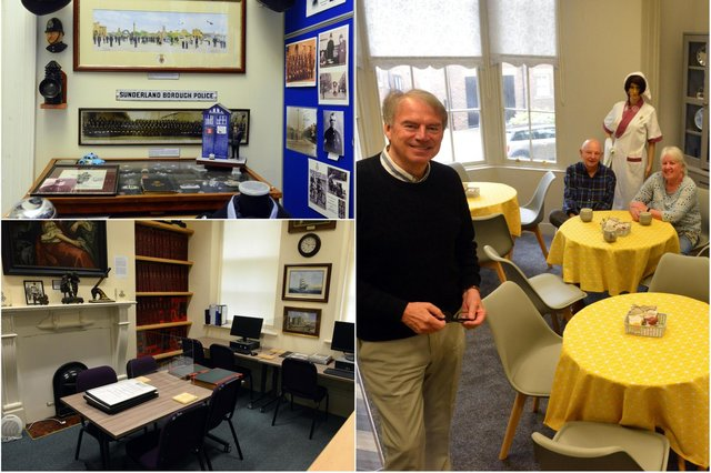 A warm welcome awaits everyone who visit the Sunderland Heritage Centre - home of the Sunderland Antiquarian Society.