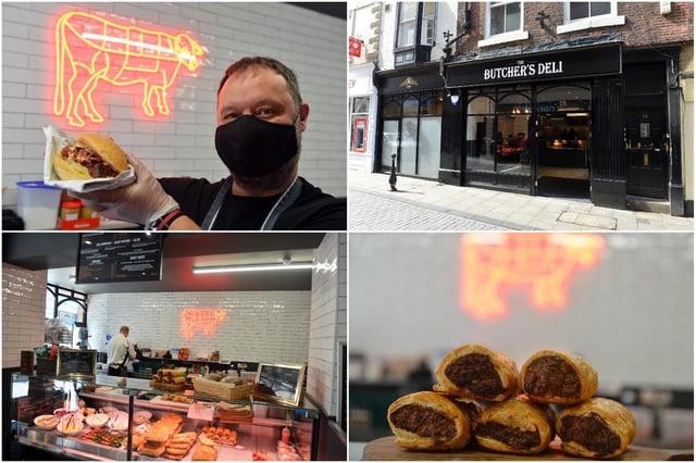 The Butchers Deli in Saddler Street, Durham City
