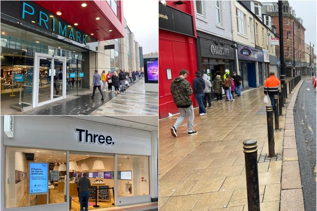 Shoppers head out in Sunderland as stores reopen on Monday, June 15.