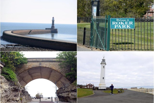 Take in the sights on this 40 minute walking route around Roker Seafront.