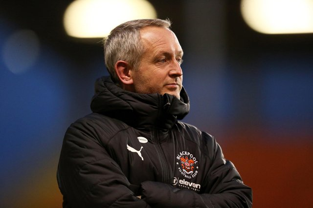 Blackpool boss Neil Critchley.