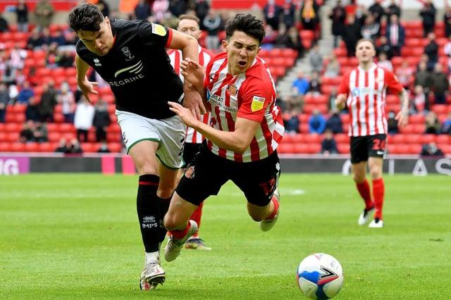 Luke O'Nien in action for Sunderland.