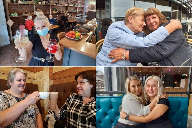 People across the city have been enjoying indoor coffees and pints and hugging loved ones as lockdown restrictions are further used on Monday, May 17.