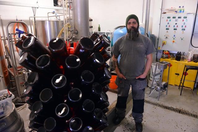 Darwin Brewey Brewing and Development Manager Gav Sutherland.
