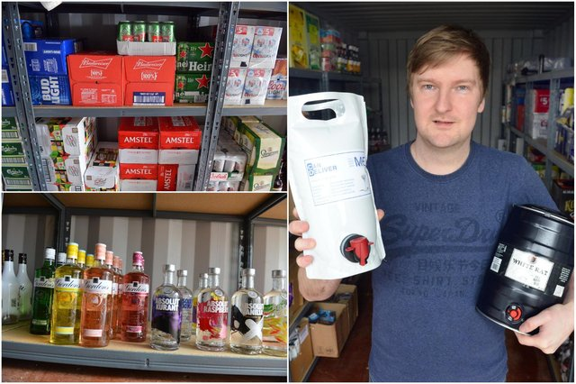 Ben Candler has launched drinks delivery service Can Deliver